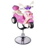 Dětské kadeřnické křeslo BW-10886 růžové
