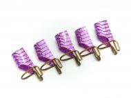 Šablony na nehty pro opakované použití - růžové