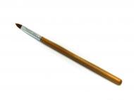 Štětec na akrylové nehty č.4 - dřevěná ručka