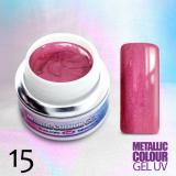 Uv gel na nehty Metalický č.15