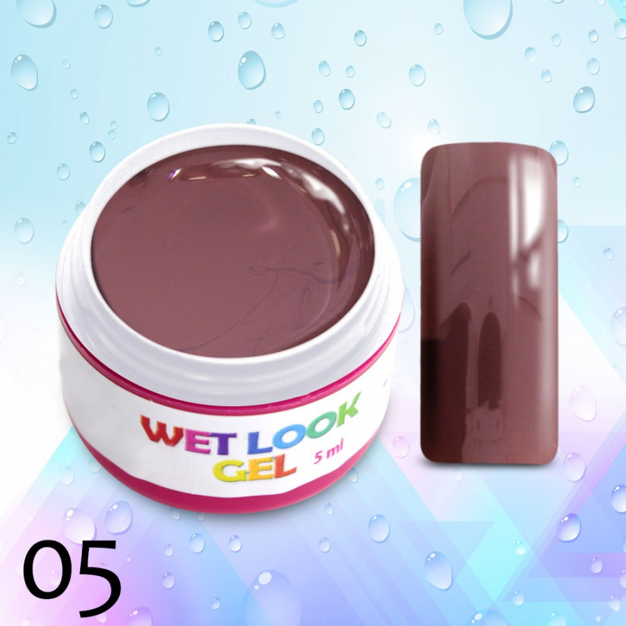 Barevný uv gel Wet Look