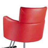 Kadeřnické křeslo LUIGI BR-3927 červené