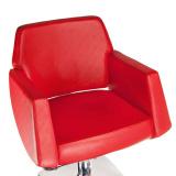 Kadeřnické křeslo NICO BD-1088 červené