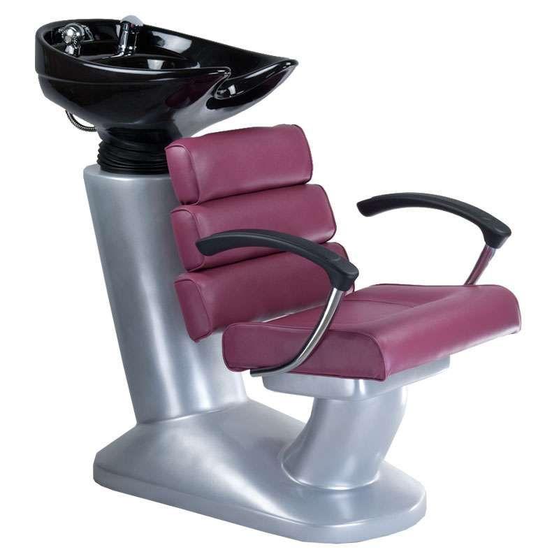 Kadeřnický mycí box FIORE BR-3530B fialový