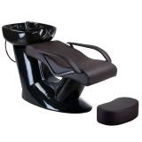 Kadeřnický mycí box Vera BR-3515 hnědý
