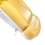 Elektrické křeslo kosmetické BR-6672B žluté