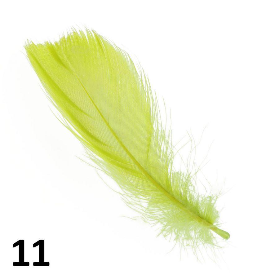 Peříčka na zdobení nehtů
