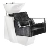 Kadeřnický mycí box ROBERTO BM-519 černá