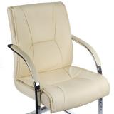 Konferenční židle / židle do čekárny BX-3345 krémová
