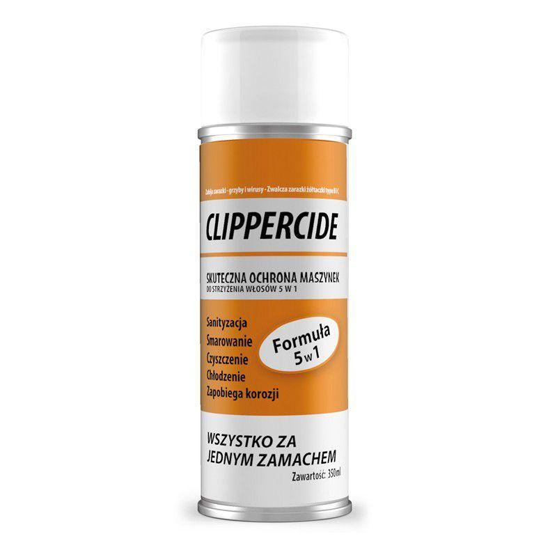 BARBICIDE CLIPPERCIDE Dezinfekční a promazávací sprej do strojků na stříhání vlasů 350g (AS)