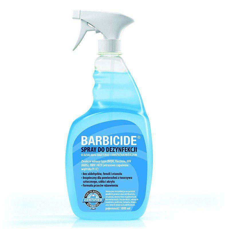 BARBICIDE Dezinfekční sprej pro všechny typy povrchů 1000 ml s vůní