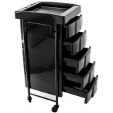 Kadeřnický vozík 008 černý