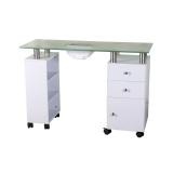 Kosmetický stolek GLASS 013B + pohlcovač prachu (AS)