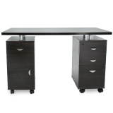 Kosmetický stolek SONIA 2022 venge (AS)