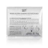 SYIS Alginátová hluboce očišťující maska s limetkou SHAKER MASK 15g (AS)