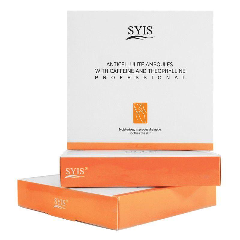 SYIS anticelulitidní ampulky s kofeinem a teofylinem 3X10ml