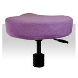 Froté potah kosmetickou židli - fialový (A)