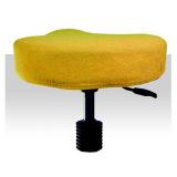 Froté potah kosmetickou židli - žlutý (A)