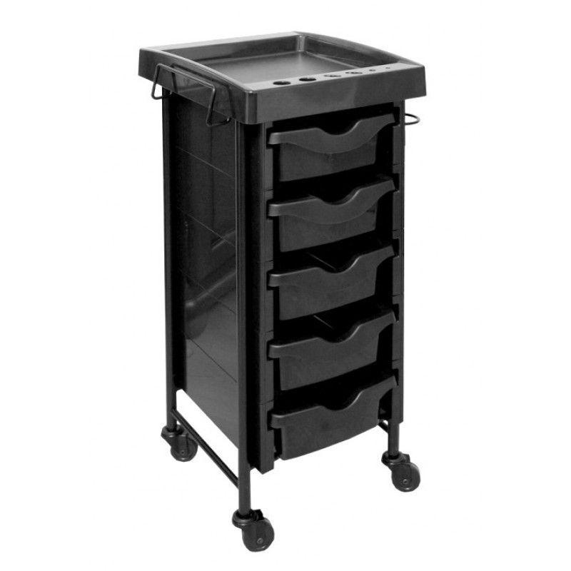 Kadeřnický vozík 009 černý