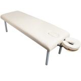 Masážní lehátko KOMFORT STAL SA-003 krémové (AS)