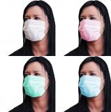 Kosmetická ochranná maska růžová 50 ks