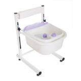 Sada pedikérská vanička s nastavitelnou výškou + masážní přístroj na chodidla (AS)