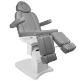 Elektrické kosmetické křeslo AZZURRO 708AS PEDI šedé (AS)