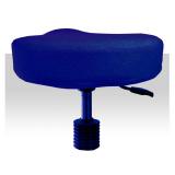 Froté potah kosmetickou židli - tmavě modrý (A)