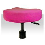 Froté potah kosmetickou židli - tmavě růžový (A)