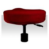 Froté potah kosmetickou židli - višňový (A)
