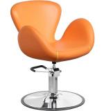Kadeřnické křeslo GABBIANO AMSTERDAM oranžové (AS)
