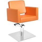 Kadeřnické křeslo GABBIANO ANKARA oranžové (AS)