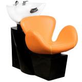 Kadeřnický mycí box GABBIANO AMSTERDAM oranžový (AS)