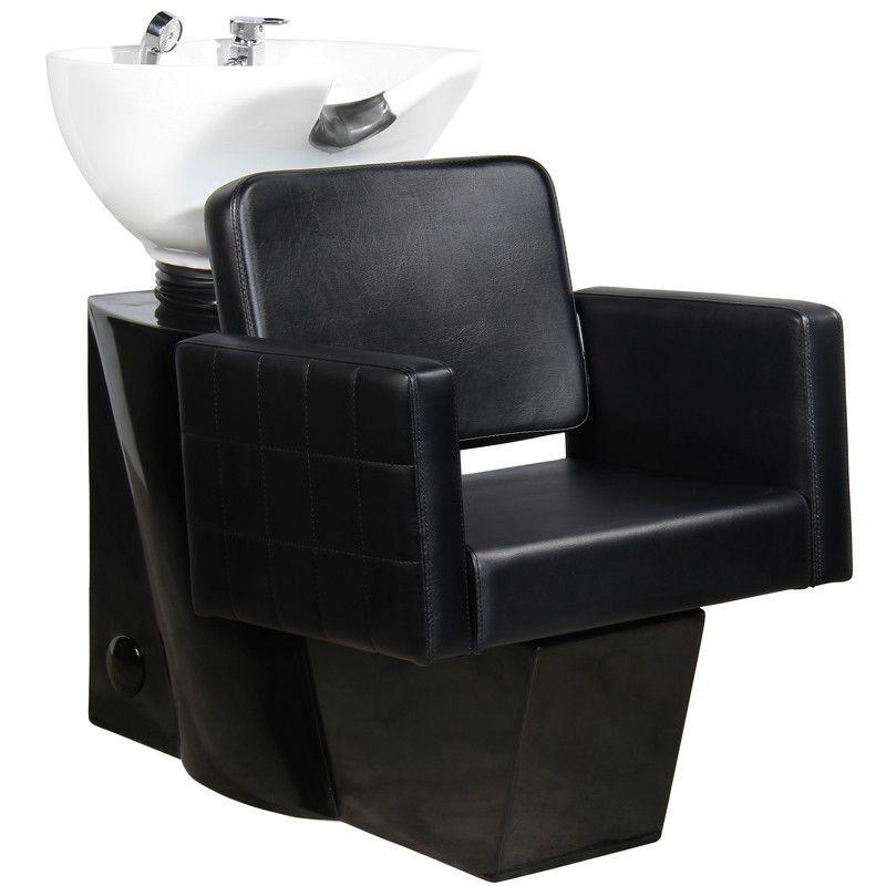 Kadeřnický mycí box GABBIANO ANKARA černý