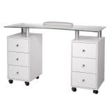 Kosmetický stolek na manikúru BD-3425-1 bílý (BS)