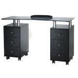 Kosmetický stolek na manikúru BD-3425-1 černý (BS)