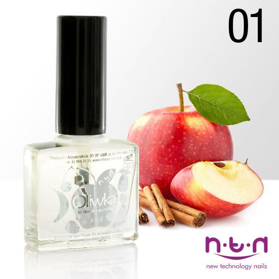 Olejíček na nehty s vůní jablek a skořice 10ml