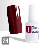 One Step gel UV/LED 3v1 bordó 2 - 15ml (A)
