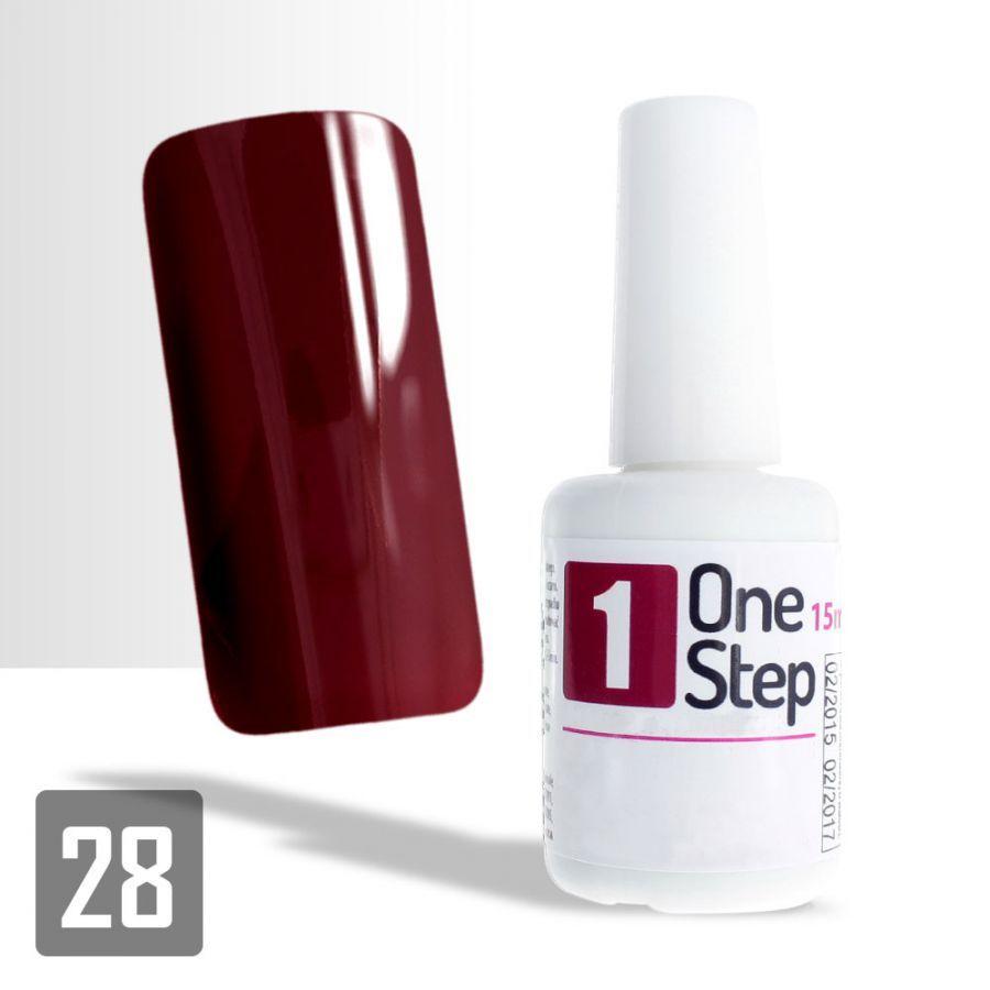 One Step gel UV/LED 3v1 bordó 2 - 15ml