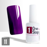 One Step gel UV/LED 3v1 fialový 15ml (A)