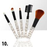 Sada štětců na make-up KIT 10 (5ks)