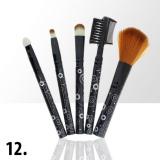Sada štětců na make-up KIT 12 (5ks)
