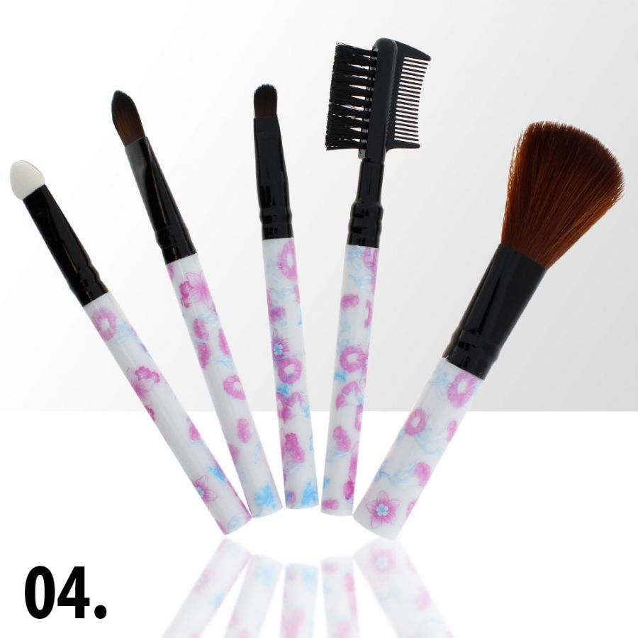 Sada štětců na make-up 4 (5ks)