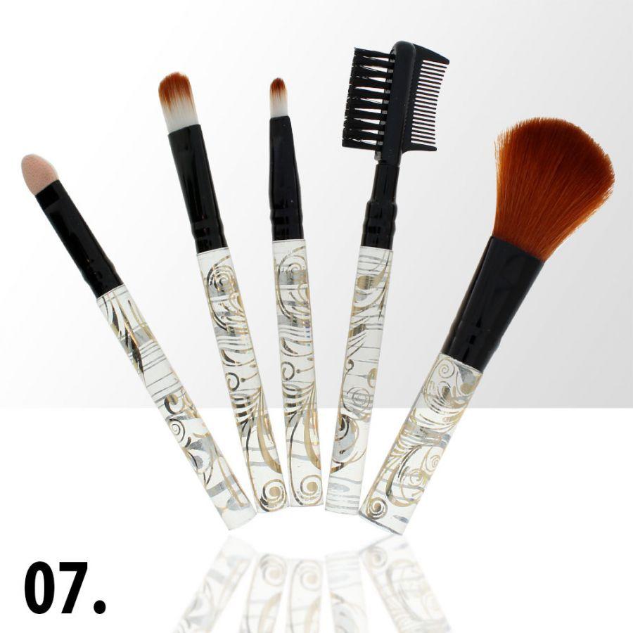 Sada štětců na make-up 7 (5ks)