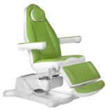 Elektrické kosmetické křeslo MAZARO BR-6672 zelené (BS)