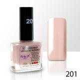 Lak na nehty NTN - 201 béžovo-růžový 10ml (A)
