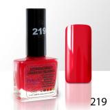 Lak na nehty NTN - 219 červený - 10ml (A)