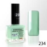 Lak na nehty NTN - 234 světlá máta - 10ml (A)