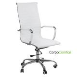 Kancelářská židle CorpoComfort BX-2035 bílá (BS)