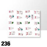 Vodolepky na zdobení nehtů č. 236